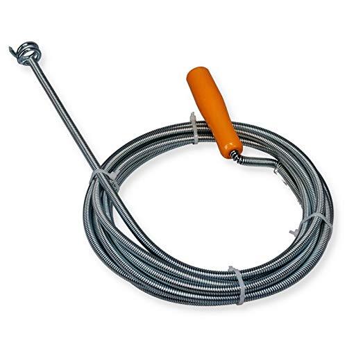 Abfluss Spirale Rohrreinigungs Welle Rohr Reiniger Trichterbohrer 9 mm 5 m
