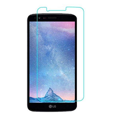 LG K7Protector de pantalla de cristal templado Protector de Cristal por SS Tech (este es compatible con LK K) (liberado de junio de 2016)