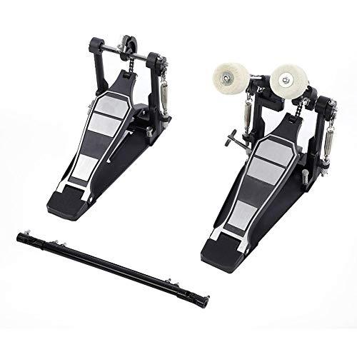 Pedal de batería, Pedal de batería Contrabajo Dual Foot Kick Percussion Accesorios...