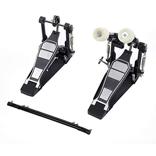 Pedal de Drum Doble Pedal bombo beater juego instrumento con percusión parte de repuesto, 33.5* 16.5* 23cm