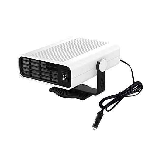 CHENJIAO Auto-Heizung 12V / 24V Auto-Heater-bewegliches Auto Defroster Defogger LKW-Auto-Heizung Und Lüfter (Color Name : 12v)