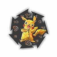 Pokеmon-Pikachu 11'' 壁時計(ポケモン - ピカチュウ)あなたの友人のための最高の贈り物。あなたの家のためのオリジナルデザイン