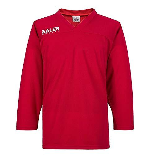 EALER Goalie Boys Girls Sweat Ice Hockey Practice Jersey Red