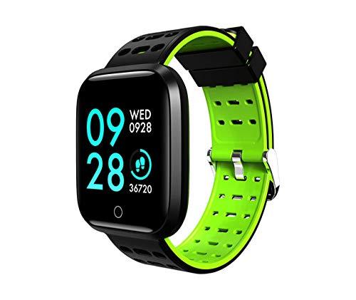 MOLINB Slim horloge Smart Fitness Armbandhorloge Zwemmen Waterdicht Bloeddruk Stappenteller Fitness Tracker GPS-horloge Heren Dames Sport Tracker
