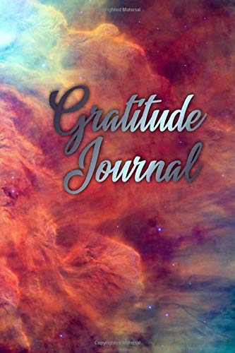 Gratitude Journal: An Inspirational Guide To Cultivate A Daily Attitude Of Gratitude | A Gratitude Journal That Will Help You Start Your Days With Gratitude | Mighty Deep Space Red Nebula Cloud