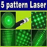 SHUANGYOU 50mW Green Laser Pointer Party Pen Disco Light 2 Mile