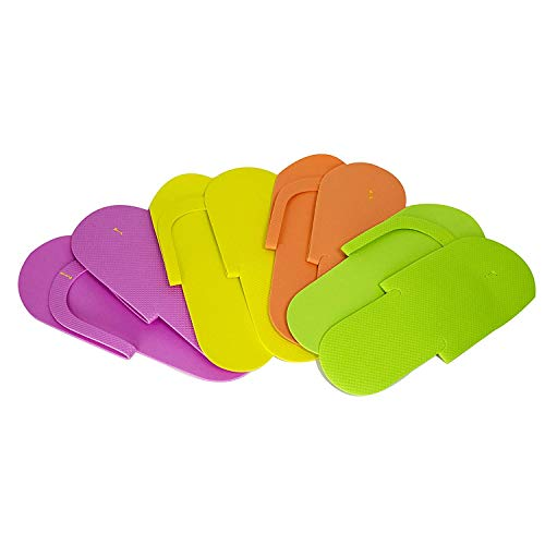 Footcandy Standard Pedicure Flip Flops 24-pair Party Pack by vipolish
