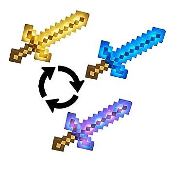 マインクラフトの大人気の武器がなりきりアイテムになって登場! ボタンを押すと剣を振る音や剣がぶつかる音が聞こえ、長押しすると剣の色が鉄、金、ダイヤモンド、エンチャントカラーに切り替わります。 ボタンを何度も押すとモブに遭遇するので、ボタンを連打して倒そう! エンダードラゴンを倒して勝利のファンファーレを聞こう! 対象年齢・・・6才~ 製品サイズ・・・W54.6*D5.1*H27.9cm 電池・・・アルカリ単3×3本(テスト用電池付き) 原産地・・・中国 対象年齢 :6才以上 電池種別 :単二型