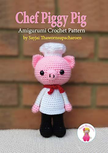 Sweet pig amigurumi pattern | Amiguroom Toys | 500x353