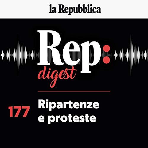Couverture de Ripartenze e proteste