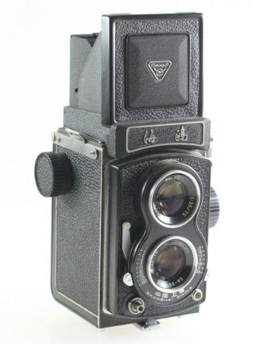 Unbekannt Seagull 4BI 4 BI 4-BI TLR Kamera mit Haiou SA-85 1:3.5 3.5 75mm 75 mm Optik