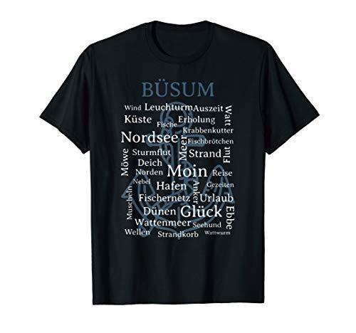 Nordsee Urlaub am Meer Büsum Fun T-Shirt