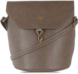 Baggit Women's Synthetic Handbag (Meldy Y G Z)(Beige)