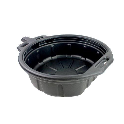 Capri Tools CP21021 Portable Oil Drain Pan, Anti-Freeze, Black
