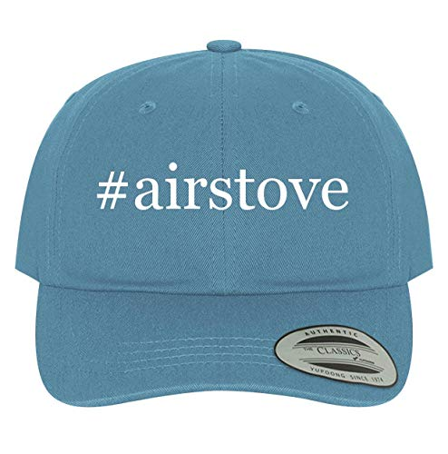 BH Cool Designs #airstove - Men's Soft & Comfortable Dad Baseball Hat Cap, Light Blue, One Size