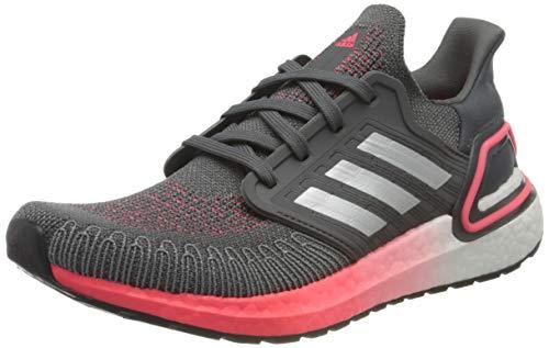 adidas ULTRABOOST 20 W, Women's Running shoe., Grefiv Silvmt Sigpnk, 4 UK (36 2/3 EU)