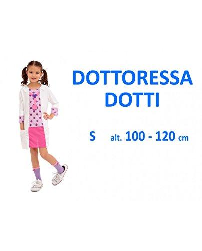 Kidz Corner-374598 Costume Dottoressa per Bambini, 374598