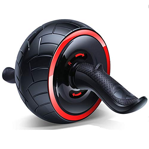 Luoli Ab Bauch-Übung Roller Body Fitness Krafttraining Maschine mit Extra Dicke Knie-Auflage-Matte stabil zu verhindern Prolongation gummierte Griffe (Color : A)