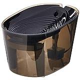 AmazonBasics Pet Fountain - Ripple, Black
