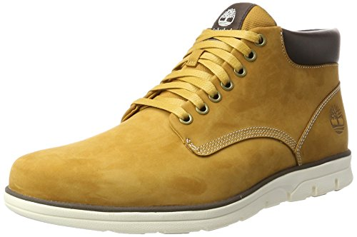 Timberland Bradstreet Chukka Leather, Bottines Homme, Jaune...