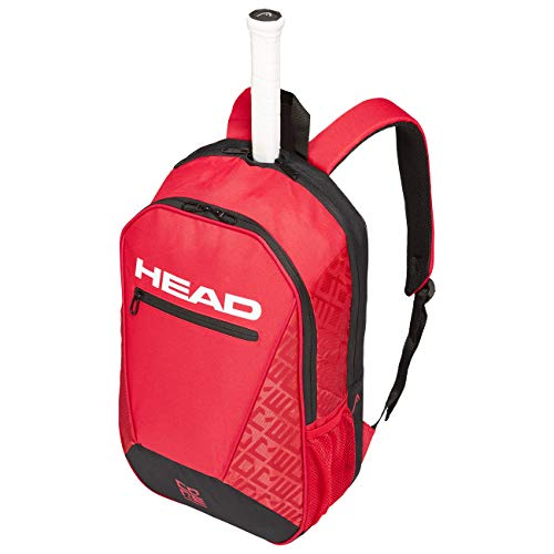 HEAD Adult (Unisex) Core Backpack Tennis Bag, red/Black, standard size