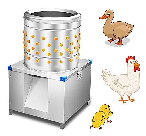 Huanyu Elektrische Geflügel-Rupfmaschine Automatischer Hühnerentleifer Entfederungsmaschine für Restuarant Hotel Küche Lebensmittelfabrik Kanteen - 5~8 chickens/time