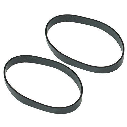 Spares2go Type 2 Rubber Drive Belt voor VAX V-2200U W90-RU W89-RU V200 V2300 U87 Turboforce Rechtopstaande Stofzuiger (Pak van 2 Riemen)