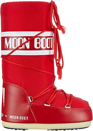 Moon Boot Nylon red 003 Unisex 39-41 EU Schneestiefel