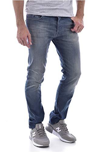 Teddy Smith ROPE REG Pantalon Homme, Gris (Gris Bleu 185), W36
