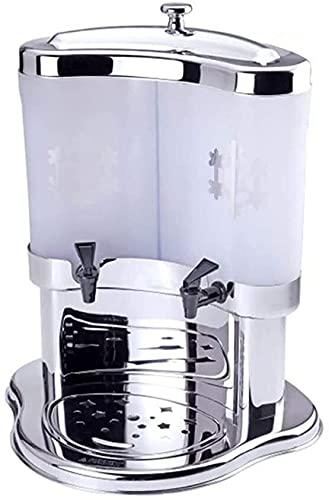 Grifo Cerveza, Dispensador de Cerveza, Dispensador de cerveza con refrigerador Frosted Barrel Cerveza Máquina de cerveza de 10 litros Máquina de jugo de bebidas de gran capacidad para la barra Home Ba