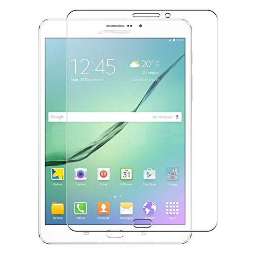 Vaxson 4 Unidades Protector de Pantalla, compatible con Samsung Galaxy Tab S2 8.0 SM-T715 T719 LTE 8' [No Vidrio Templado] TPU Película Protectora