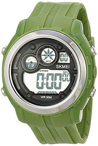 Relógio Digital, Skmei, Masculino, Verde