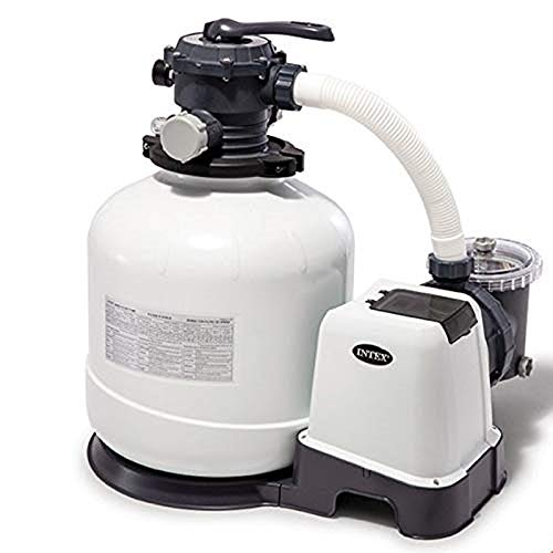 Intex Filtre à Sable, Blanc 10m3/h