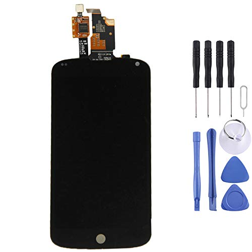 HMG 2 in 1 for LG Nexus 4 / E960 (Neues LCD + Touch Panel) Digitizer Assembly (Schwarz)