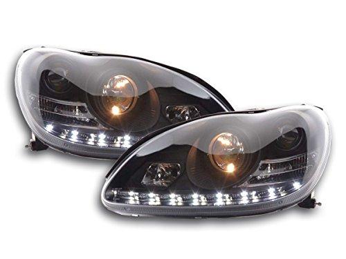 FK Automotive FKFSMB010003 daylight koplamp geschikt voor Mercedes Benz S-klasse (type W220) bj. 98-05 zwart