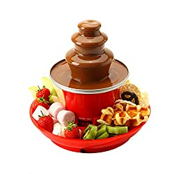 🎉[PARTY TIME!] Serving tray included so its easy to grab and dip all your favourites such as strawberries, marshmallows, fudge, banana, profiteroles and anything else you can dream of covered in chocolate heaven! Fun for all the family, great for bir...