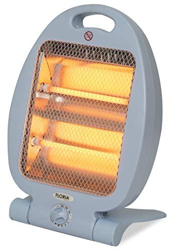 Heizstrahler 400/800 Watt | 2 Leistungsstufen | Überhitzungsschutz | Elektro Heizung | Heizer | Quarz Heizung | Elektroheizung | Tragegriff |