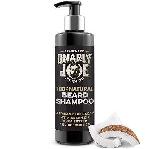 Gnarly Joe Beard Shampoo for Men. Moisturise and Soften African Black Soap,...