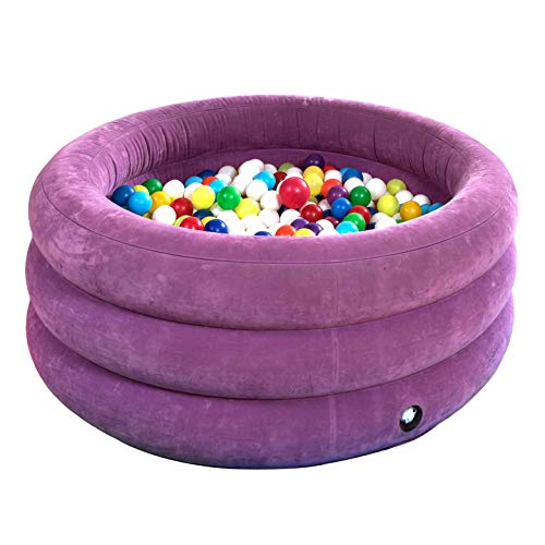 Fun and Function - Air-Lite Ball Pit - Soft & Inflatable Ball Pit for Toddlers and Kids - Multi-Sensory Environment Helps Kids with Special Needs - 44' Inner and 64' Outer