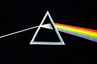Sunshine Joy Pink Floyd Tapestry The Dark Side of The Moon Classic Black Wall Art 60x90 Inches