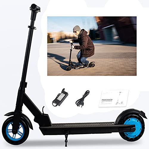 """Magic Vida Trottinette Électrique Adultes Enfants - Pneu 8"""" - Puissance 350W - Distance 30KM - Vitesse Max 25KM/H - Batterie 6,0AH 36V - Ecran LCD - LED - Noir"""