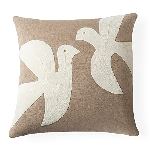Jonathan Adler - Throw Pillow - Biarritz Love Dove