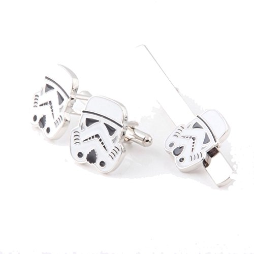 Darth Vader Star warstie Clip Gemelos Star Wars disfraz. Pin De Corbata Bar Gemelos
