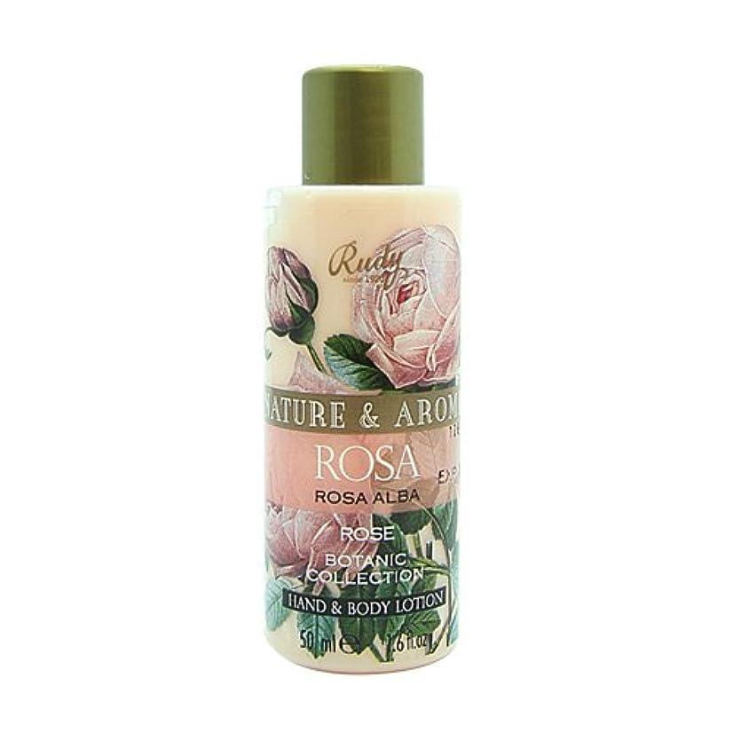 洗う強打コインRUDY Nature&Arome SERIES ルディ ナチュール&アロマ Mini Body lotion ミニボディローション ローズ