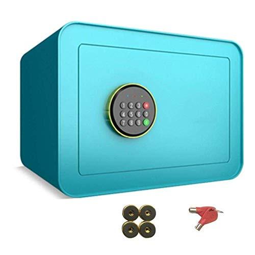 ZBY Cassette Di Sicurezza Cassetta Di Sicurezza Cassetta Di Sicurezza Digitale Cassetta Di Sicurezza Elettronica, Cassetta Portavalori Cassetta Di Sicurezza Ignifuga Impermeabile Armadietti per Pisto