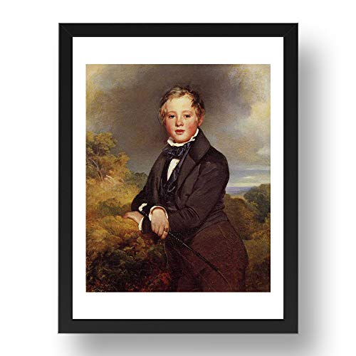Period Prints WINTERHALTER, Franz Xaver – Ludwig Graf Von Langenstein, arte vintage,...