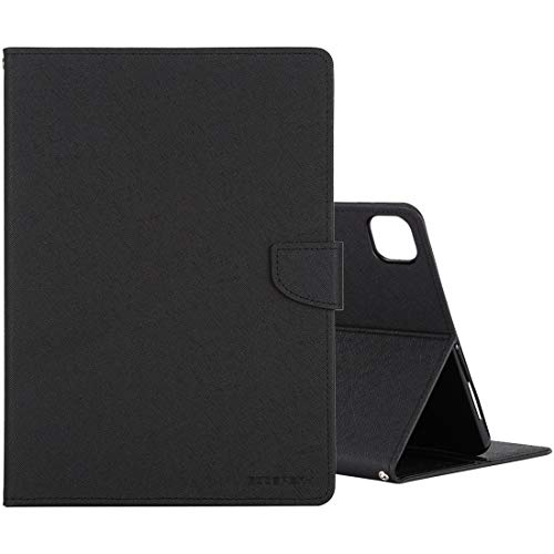 LESLEY LM For Cross Texture Leather Case with Holder & Card slots & Wallet iPad Pro 11 2020 (Black) 2021 NEW MODEL (Color : Black)