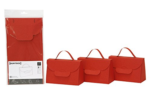 Buntbox 171–17Bolso Set, 3piezas), diseño de rubíes
