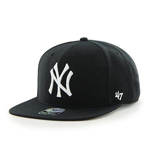 '47 Forty Seven Brand MLB New York Yankees Sure Shot Snapback Cap Black Captain