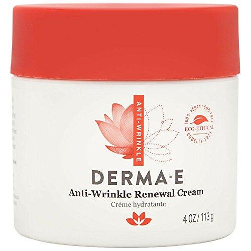 Derma E Anti-Wrinkle Renewal Cream 4 oz (Pack of 2)